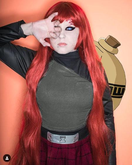 Una idea de cómo se vería Gaara de Naruto como mujer