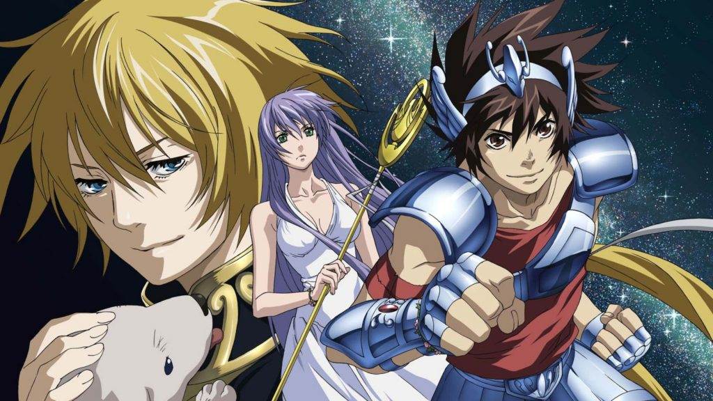 Anime Saint Seiya The Lost Canvas
