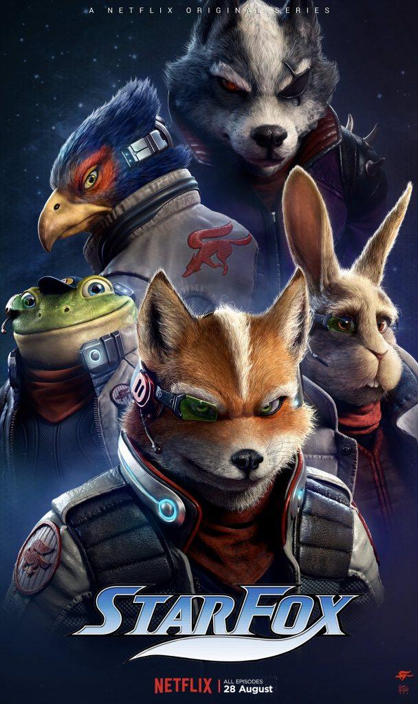 Fanart de los fans sobre la posible película de Star Fox
