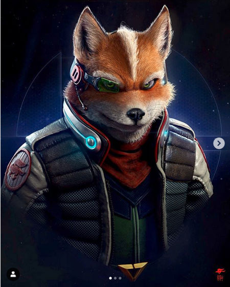 Artista de God of War imagina a Fox de Star Fox de forma realista