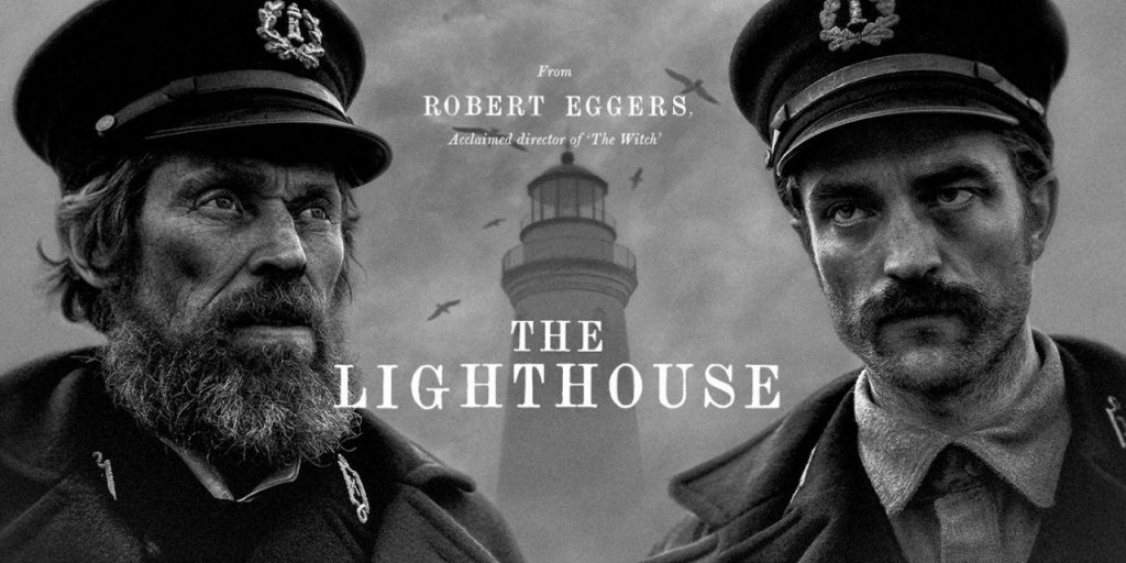 Willem Dafoe y Robert Pattinson compartieron pantalla en The Lighthouse.