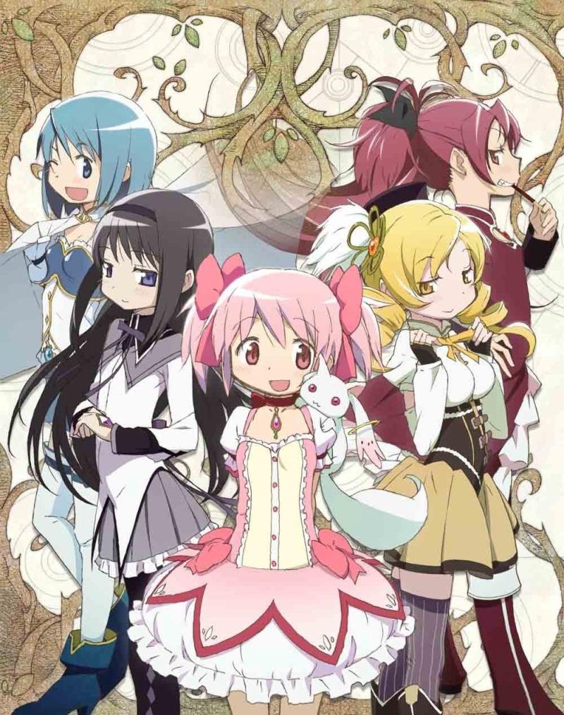 Animes en Netflix: Puella Magi Madoka Magica