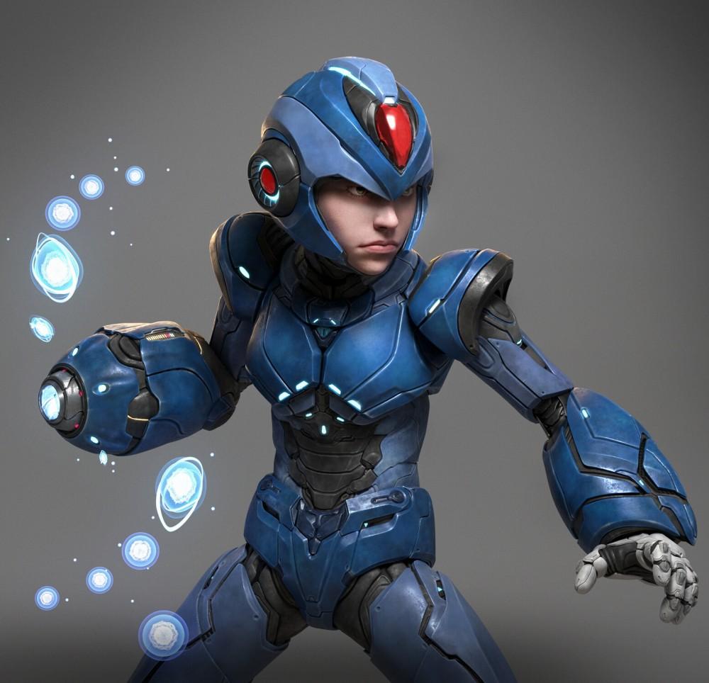 Mega Man creado por Tiago Rios