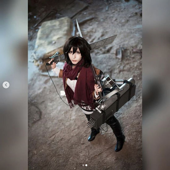 Attack on Titan: Este cosplay de Mikasa Ackerman es muy realista