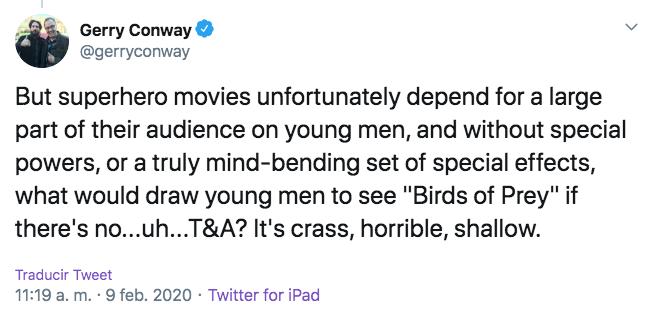 Opinión de Gerry Conway