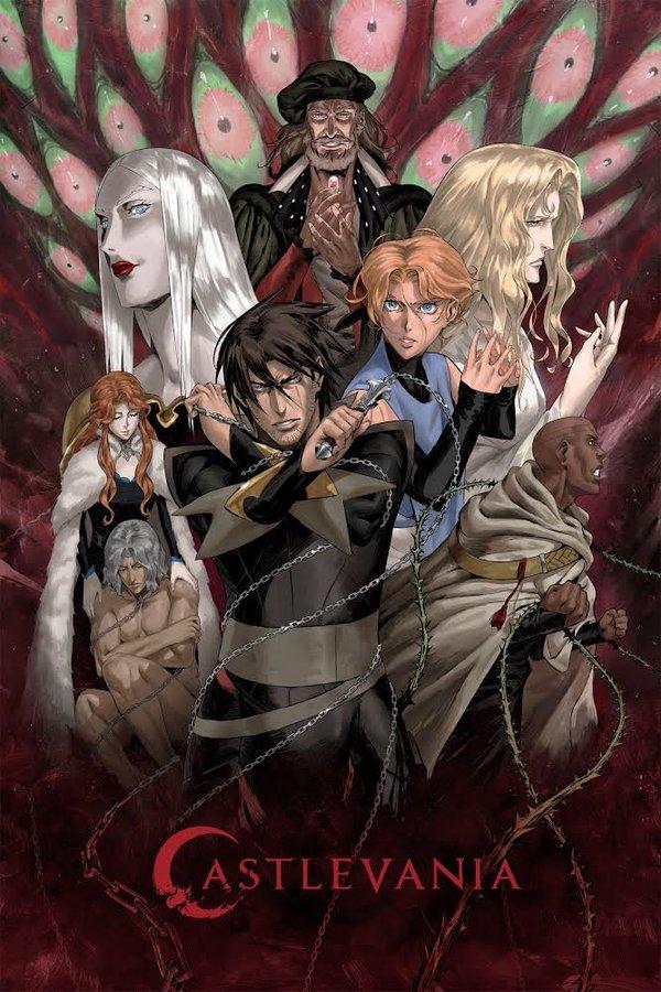 Castlevania regresará a Netflix en marzo