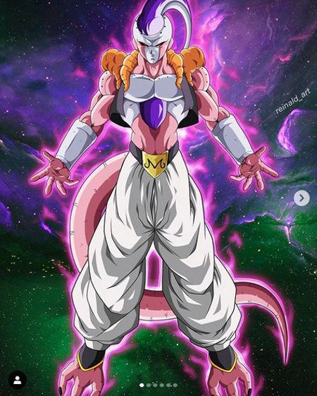 Dragon Ball Z: Así imaginan la fusión entre Super Buu y Freezer