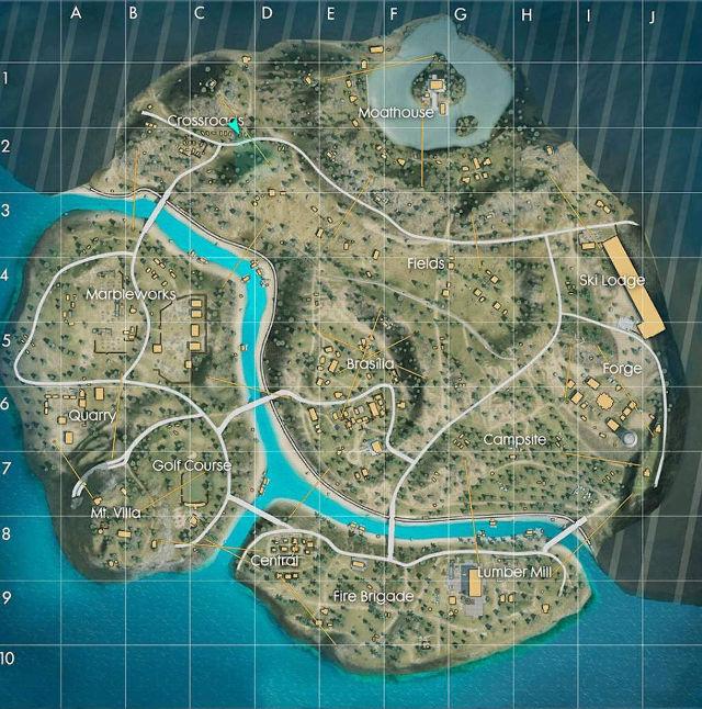 Free Fire: Removerán uno de los mapas más populares del juego