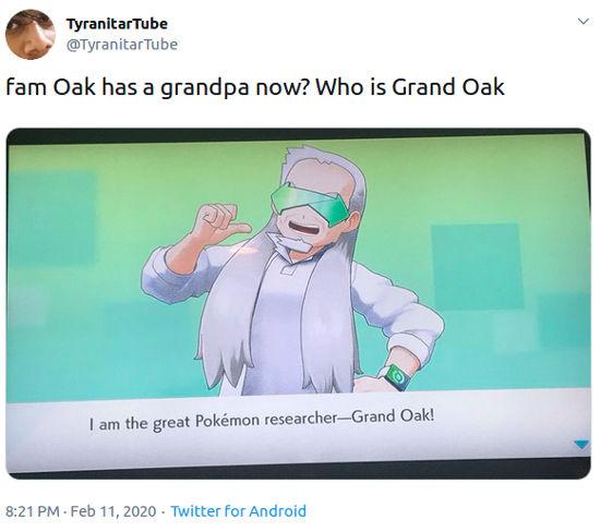 Pokémon: El Profesor Oak ahora es un chavorruco y el Internet así reaccionó