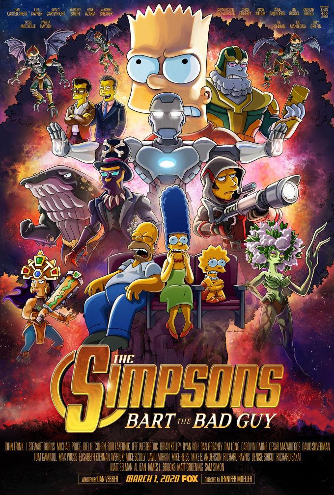 Los Simpson parodian las películas de Avengers