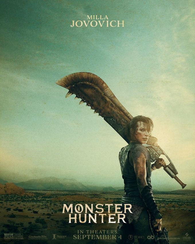 Olvídate de Jovovich en Resident Evil, revelan avance de cómo se ve en Monster Hunter