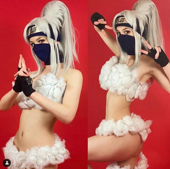 Así se vería Kakashi-sensei con el Jutsu Sexy de Naruto