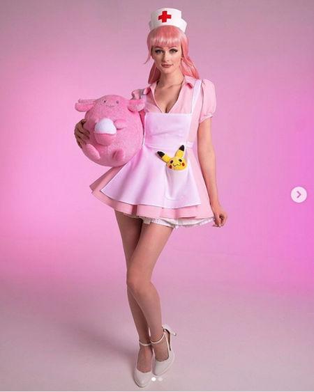 Así se vería la Enfermera Joy de Pokémon en la realidad