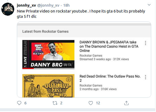 Corren rumores acerca del anuncio de GTA 6