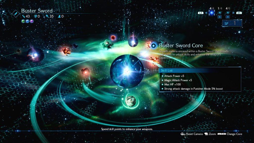 Final Fantasy VII Remake Materias