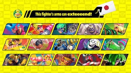 Arms en Super Smash Bros Ultimate