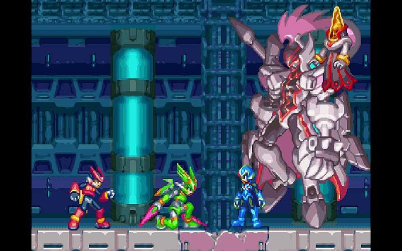 Mega Man Zero/ZX Legacy Collection Captura 2