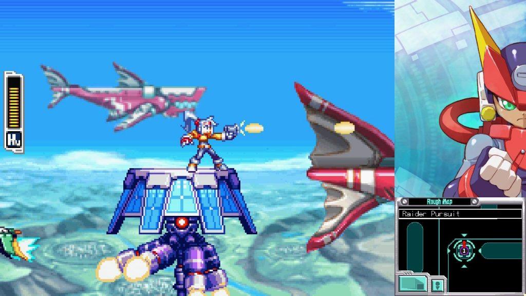 Mega Man Zero/ZX Legacy Collection Captura 4