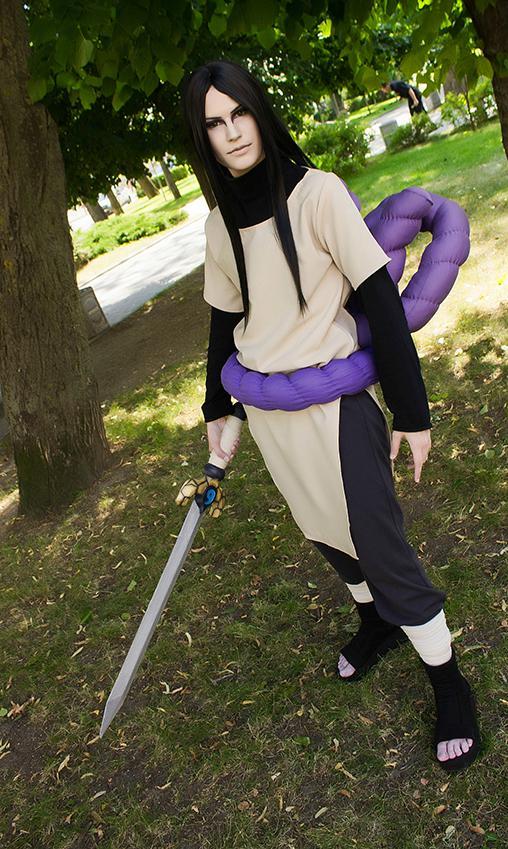 Así se vería Orochimaru de Naruto en la realidad