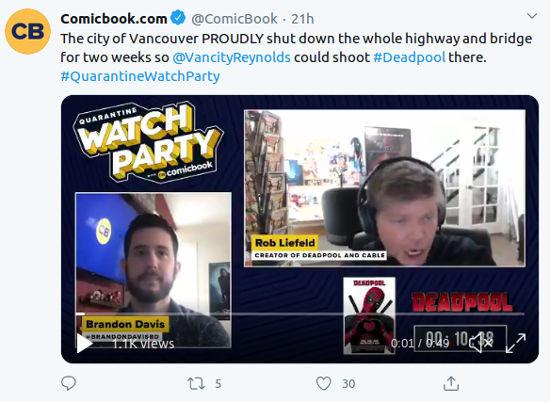 Cocreador de Deadpool habla del crossover con Spider-Man