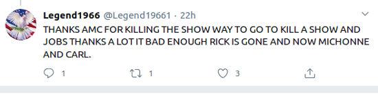 The Walking Dead se retrasa por el coronavirus y los fans estallan en Twitter