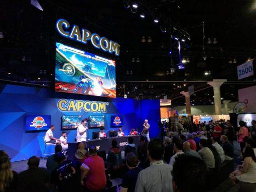 Así se hubiera podido ver el booth de Capcom en E3 2020
