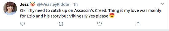 Assassin's Creed Valhalla es recibido en grande por los fans