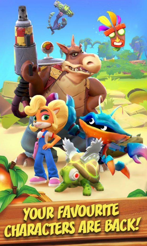 Crash-Bandicoot-Mobile-Personajes