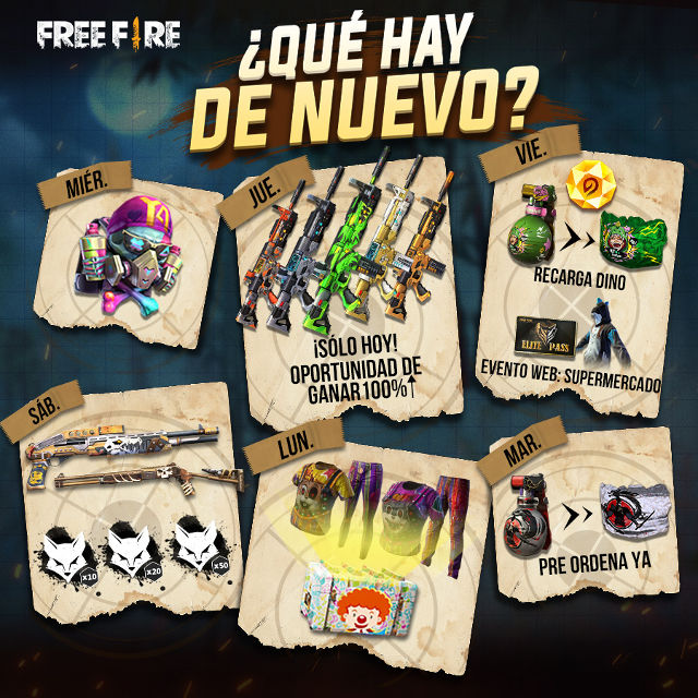 Dino Angelical Free Fire