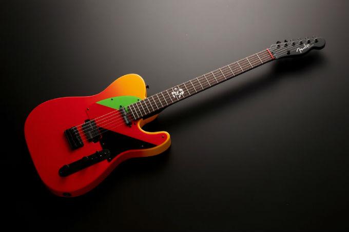 Evangelion-Guitarra-Fender