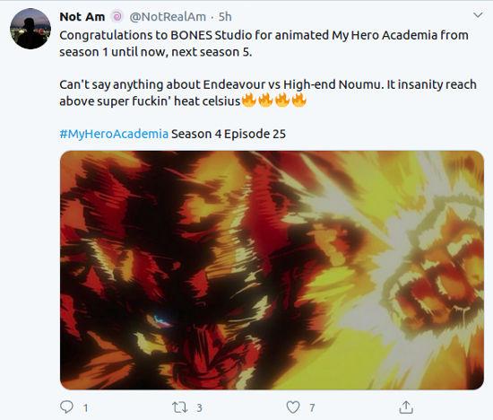 Fans reaccionan al final de la Temporada 4 de My Hero Academia