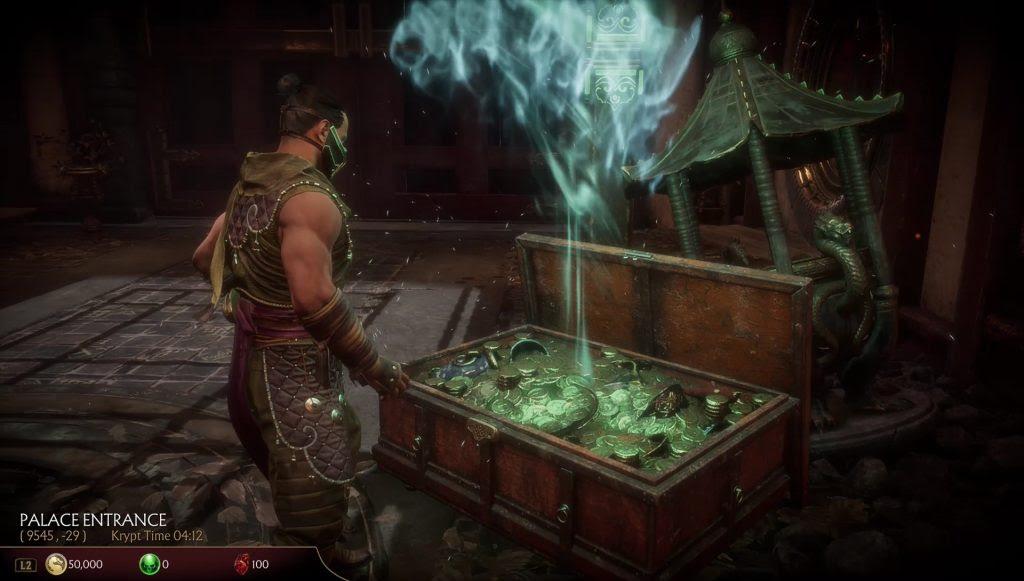 Cofres de Mortal Kombat 11