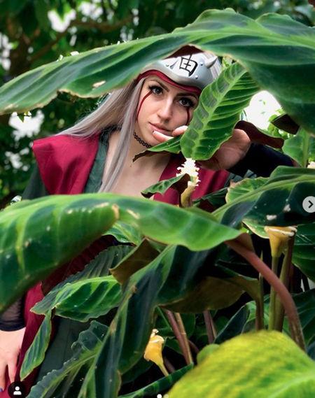 Así podría verse Jiraiya de Naruto como mujer