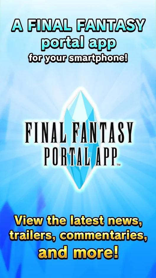FinalFantasy Portal App