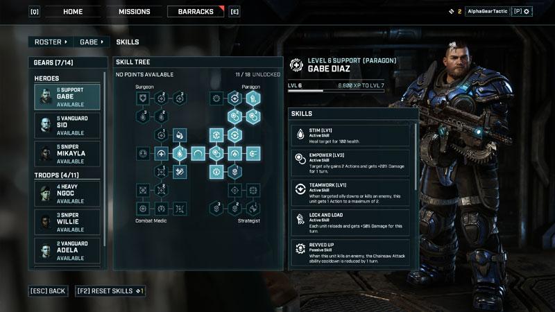 Gears of War Gears Tactics