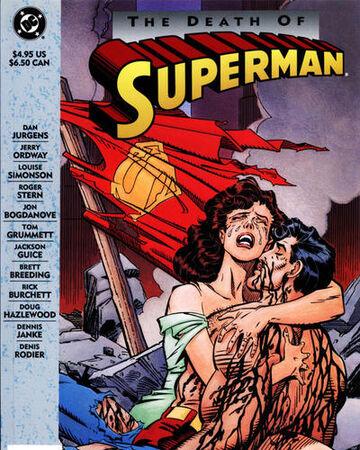 Comic Muerte de Superman