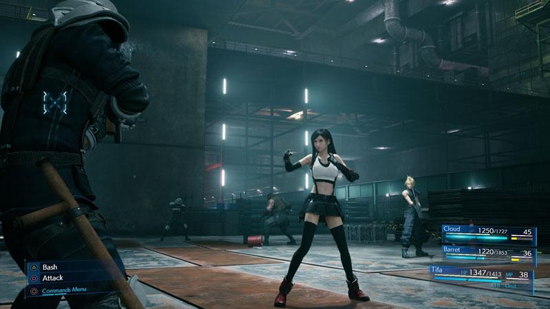 Manual combate Tifa Final Fantasy 7 Remake