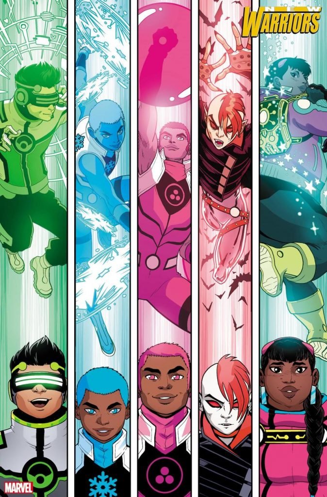 New Warriors de Marvel