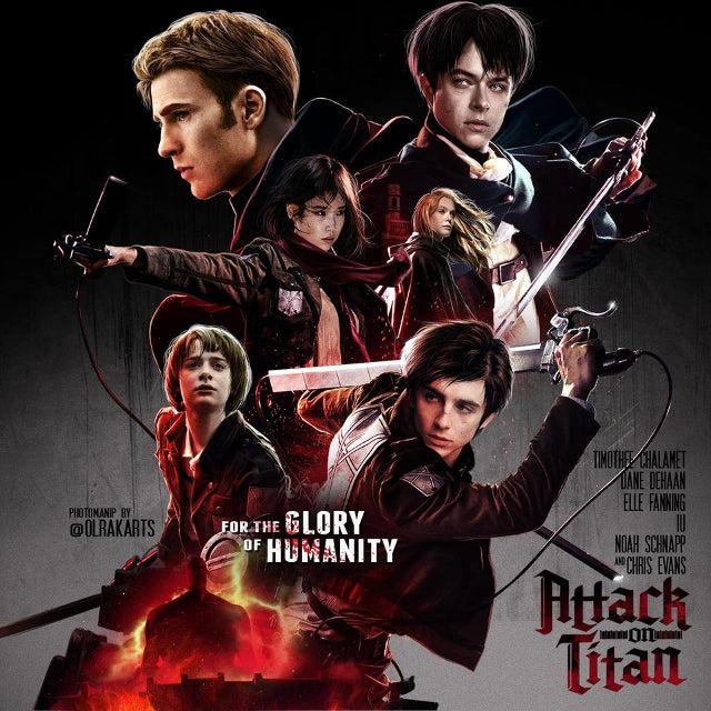 Attack on Titan live-action consigue espectacular póster y los fans reaccionan