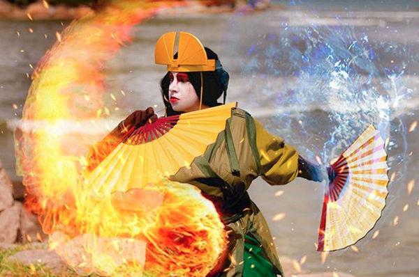 Así podría verse Kyoshi de Avatar: La Leyenda de Aang en la realidad