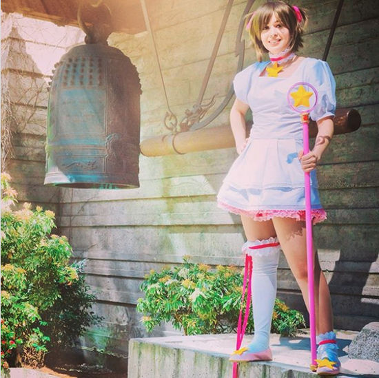 Sakura de CardCaptor Sakura consigue un nuevo cosplay