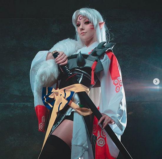 Así se vería como mujer Sesshomaru de Inuyasha