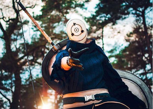 Así se vería Tobi de Naruto Shippuden en la realidad