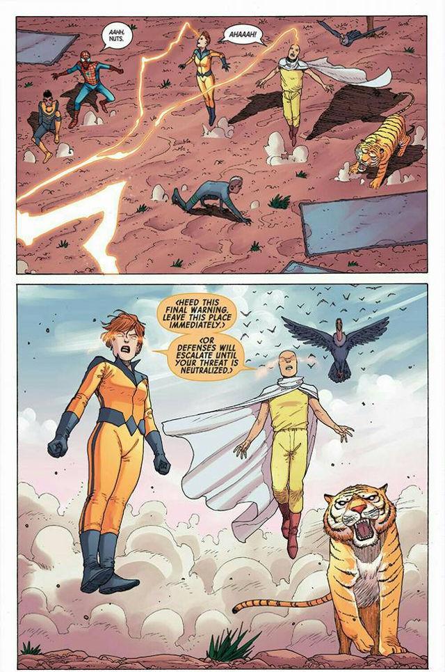 Saitama de One-Punch Man estuvo en Marvel hace años y no te diste cuenta