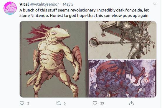 Nintendo preparaba el Zelda más oscuro hasta ahora, pero fue cancelado