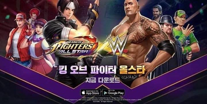 WWE The King of Fighters All Star