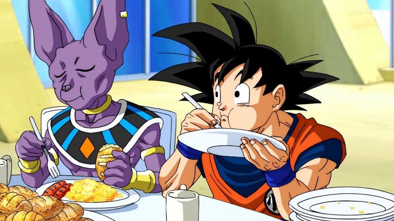 Goku comienzo con Bills
