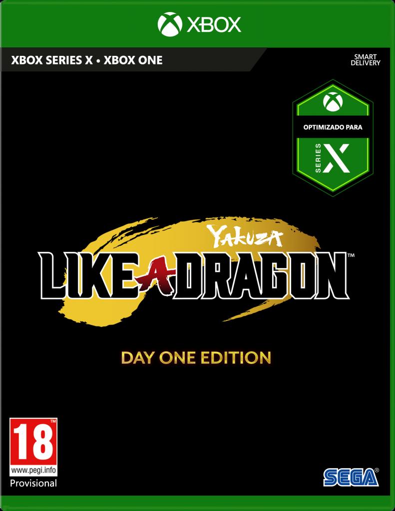 Caja de Yakuza Like a Dragon para Xbox Series X