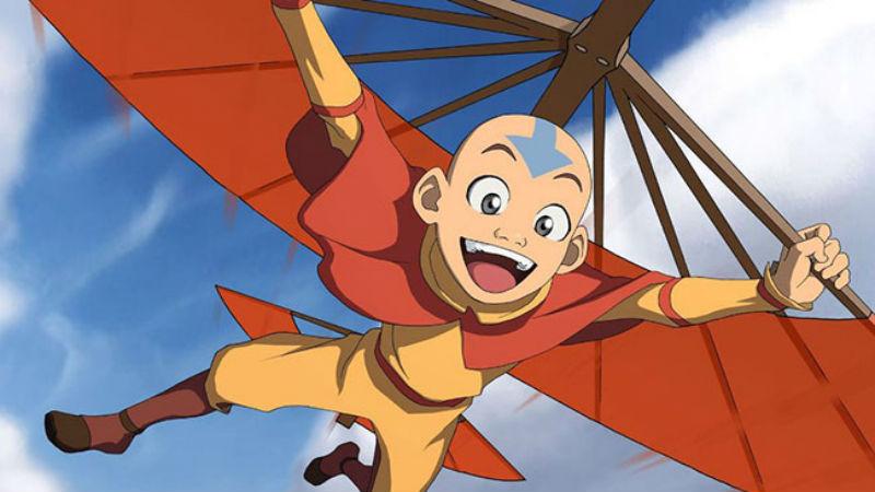 Imagen de Aang para el Test de Que Personaje de Avatar Eres