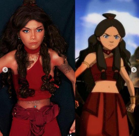 Katara de Avatar: La Leyenda de Aang consigue otro cosplay